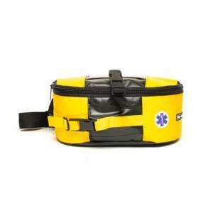 Apteczka pierwszego kontaktu dla ratownika medycznego pro-teht nerka na pas lub udo żółto czarna 1