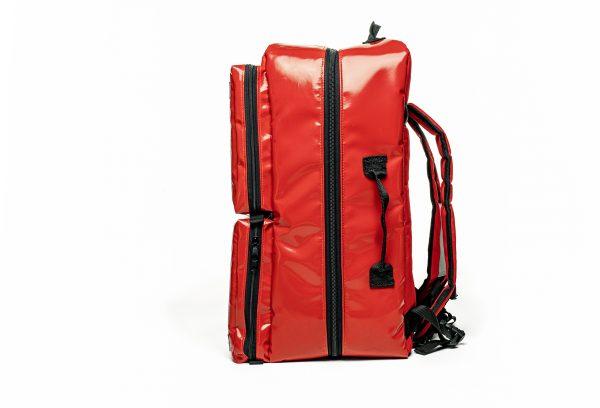 plecak medyczny PSP R1 z wyjściem butli tlenowej PROPLAN OXY pro-teht czerwony