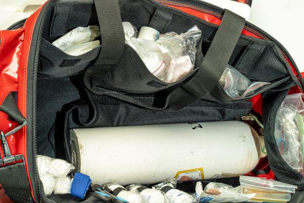 torba medyczna PSP R1 bezpośrednie wyjście tlenoterapii MEDIBAG OXY
