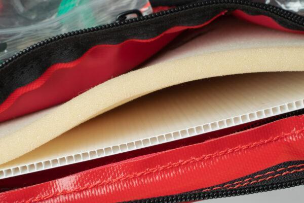 Plecak medyczny PROPLAN PRO z przegrodą pro-teht czerwony 8