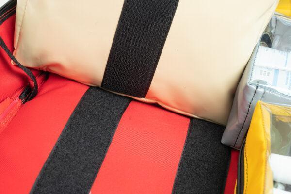 Plecak medyczny PROPLAN PRO z przegrodą pro-teht czerwony 7
