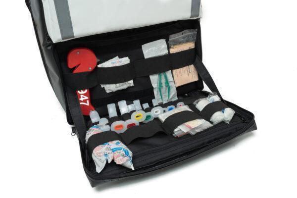 plecak medyczny PSP R1 PROPLAN pro-teht czarno biały 7