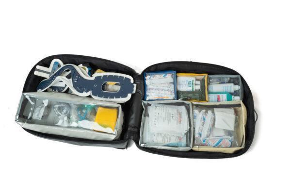plecak medyczny PSP R1 PROPLAN pro-teht czarno biały 8