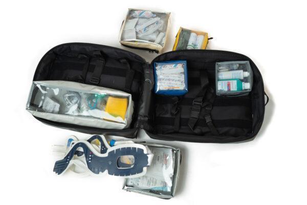 plecak medyczny PSP R1 PROPLAN pro-teht czarno biały 9