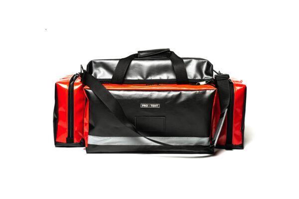 torba medyczna MEDIBAG R0 pro-teht czarno czerwona 1