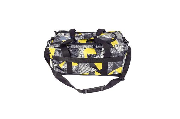 torba sportowa load&go żółto-czarna