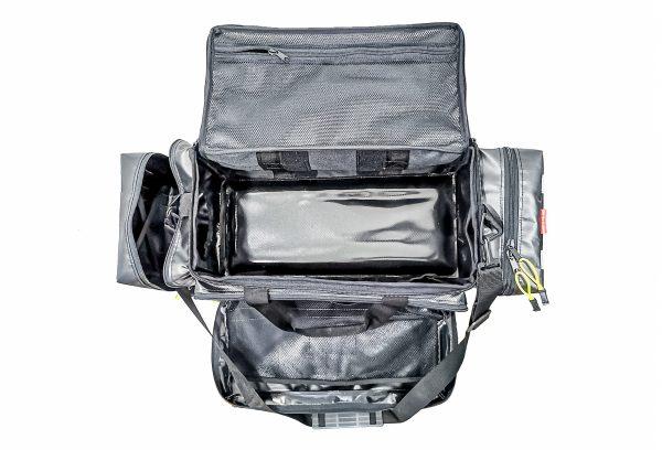 torba medyczna PSP R1 MEDIBAG 01 czarna tlenoterapia butla tlenowa